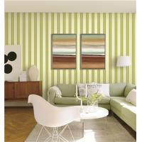 Buy cheap 70cm width fireproof waterproof mould proof stripe styles PVC vinyl wallpaper product