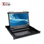 Buy cheap 1920 X 1080 Rackmount LCD KVM Drawer AC100 - 240V Adjustable Slide 480*530*44mm from wholesalers