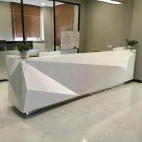 Buy cheap Fashionable Shape Reception Desk Display Case Luxury For High End Company from wholesalers