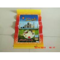 Buy cheap Laminated Poly Bags With Hangers , Transparent Woven Grain Storage Bags from wholesalers