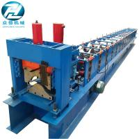 Buy cheap 15 Rows Ridge Cap Roll Forming Machine Cold Roll Forming Equipment from wholesalers