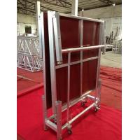 Buy cheap Temporary Movable Folding Stage Platform Aluminum For Outdoor Performance from wholesalers