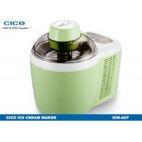 Buy cheap Green Ice Cream Making Machine 0.7L Inner Tank CE Certification from wholesalers