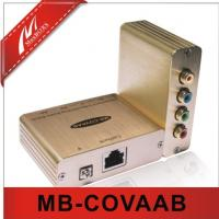 Buy cheap Component Video/Analog Audio Extender Over Cat5e/6  MB-COVAAB from wholesalers