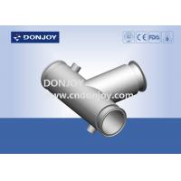 Buy cheap 304 316LStainless Steel Sanitary Fittings jacketed insulation clamp tee,elbow,pipe from wholesalers