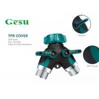 Buy cheap Water Tube Plastic Tap Connector , Y Piece Hose Splitter Two Way 3/4 Inch from wholesalers