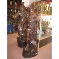 Buy cheap Special Patina Chinese Guan Gong Buddha Bronze Sculpture--Bronze Buddha Sculpture from wholesalers