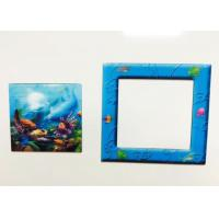 Buy cheap CMYK Printing PP / PET Lenticular 3D Fridge Magnets For Home Decration from wholesalers