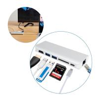 Buy cheap USB C Docking Station USB 3.1 4K HDMI and Ethernet Multiport Adapter with USB C Power Delivery for Charging and DATA from wholesalers