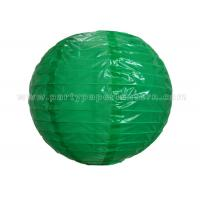 Buy cheap Single Color Printing Round Nylon Lantern Outdoor For Party , Home Decoration from Wholesalers