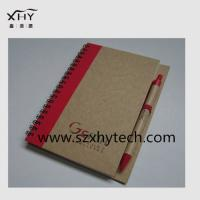 Buy cheap recycle spiral paper notebook from wholesalers
