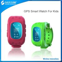 Buy cheap Multifunctional GPS tracking watch anti-lost device for kids/old people,android smart watch for elder product