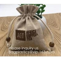 Buy cheap Burlap Bags with Drawstring, 4x6 Inch Rustic Gift Bag Bulk Pack - Wedding Party Favors, Jewelry and Treat Pouches bageas from wholesalers