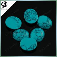 Buy cheap Wholesale Gemstone Cabochon Oval Synthetic Turquoise Stone Beads from wholesalers