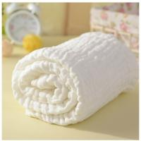 Buy cheap Magic Soft Newborn infant Baby 6 layer 8 layer Medical Guze Bath towel  Bathrobe Blanket from wholesalers