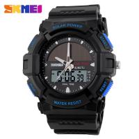 Buy cheap Solar Christmas Gifts Sports Digital Watches Waterproof with LCD movement from wholesalers