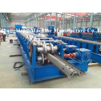 Buy cheap Guard Rail Rollforming Machine Cold Roll Forming Equipment With Hydraulic Punching from wholesalers