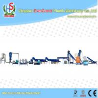 Buy cheap Stainless Steel Waste Recycling Machine for Plastic Bottles Crushing Washing Drying Line from wholesalers