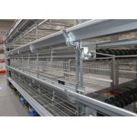Buy cheap Poultry H Type Broiler Chicken Cage For Meat Chicken Convenient Management from wholesalers