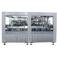 Buy cheap 1L Glass Bottle Wine Filling Machine With Cork Capping Straight Liner Machine from wholesalers