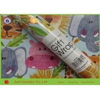 China Printed Waterproof Roll Gift Wrapping Paper 4.8CM Corrugated Wrapping Paper on sale