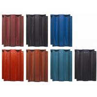 Buy cheap Clay Glazed Roof Tiles Rainproof Wear - Resistant For School / Residential Roof from wholesalers