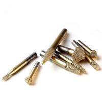 Buy cheap Carving Stone CNC Diamond Engraving Tool Golden Color High Precision Less Wasteness from wholesalers