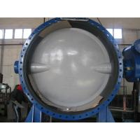 Buy cheap Automatic Double Flanged Butterfly Valves Flanged Resilient Sealing DN2000 from wholesalers