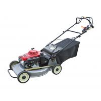 Buy cheap Red Small Push Lawn Mowers / Rotary Lawn Mower Chinese Gasoline Engine from wholesalers