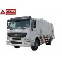 Buy cheap International Garbage Compactor Truck Transformer Single Row 336HP Engine from wholesalers