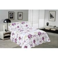Buy cheap Rose / Butterfly Cotton House Quilt Covers With Colorful Printed Pattern Styles from wholesalers