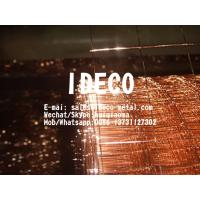 Buy cheap Self-Colour Copper Washed Welded Wire Mesh Rolls, Fine Copper Coated Industrial Welded Mesh Sheets from wholesalers