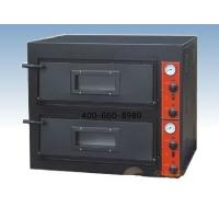 Buy cheap Black Painting Electric Pizza Oven With 2-layer 2 Tray for West food Restaurant from wholesalers