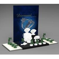 Buy cheap Jewelry Showcase Display Set Acrylic Jewellery Stand for Necklace,Earring,Ring from wholesalers