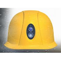 Shock Proof Safety Hard Hats With Camera Below Zero 30-70 Degrees Temperature