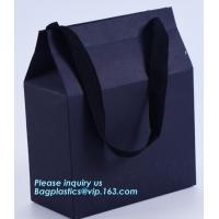 Buy cheap high quality factory price fashionable custom shopping handle paper carrier bags,Fresh Flower Bouquet Packaging Carrier from wholesalers
