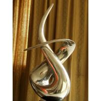 Buy cheap Handcraft stainless steel abstract art sculpture for outdoor from wholesalers