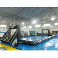 Buy cheap 0.55 mm PVC Tarpaulin Inflatable Water Sport , Outdoor Inflatable Soccer Field from wholesalers
