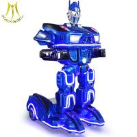 Buy cheap Hansel kids anti collision theme park amusement rides on robot for sales from wholesalers