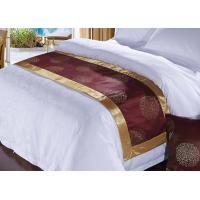 Buy cheap Four Seasons Hotel 3d Bed Scarf Runner Polyester Bedding Fabric Characteristic Pattern from wholesalers
