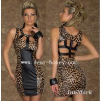 Buy cheap Leopard Dress Clubwear Party Dresses MX-2427 from wholesalers
