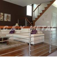 Buy cheap 304、316 Stainless steel handrail/railing/balustrade with grass and wooden from wholesalers