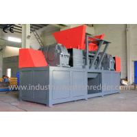 Buy cheap Double Shaft Heavy Duty Cardboard Shredder , Cardboard Carton Shredder Machine from wholesalers