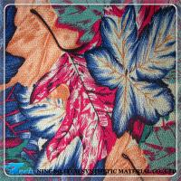 Buy cheap maple leaf design print fabric for shoe making, telas para zapatos from wholesalers