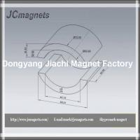 China Arc Ferrite Magnets for EPS Motor on sale