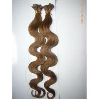 China Pre-bonded hair , stick hair on sale