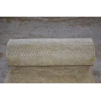 Buy cheap 3000 - 7000mm Length Rock Wool Blanket Insulation , Fireproof Insulation Blanket from wholesalers