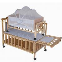 Buy cheap Modern Newborn Baby Wooden Baby Cot Bedding Baby Sleeping Cot from wholesalers