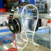 Buy cheap Clear Acrylic Display Holders , 8mm thick headphone display holders from wholesalers
