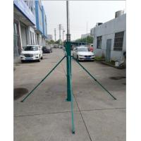 Buy cheap telescopic mast sectional mast 50 foot telescoping antenna mast 15m aluminum tower China ow price mast from wholesalers